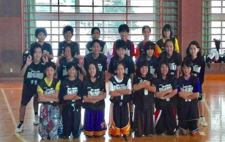名護市選抜女子チーム