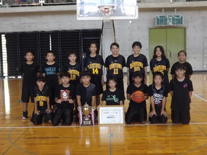 混成優勝:辺士名小学校