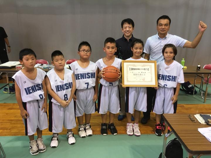 優勝:伊江西小学校