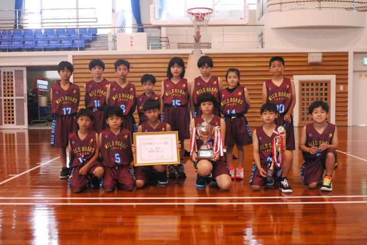 混成優勝:稲田小学校