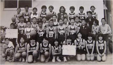 1989年:宜野座小学校女子チーム